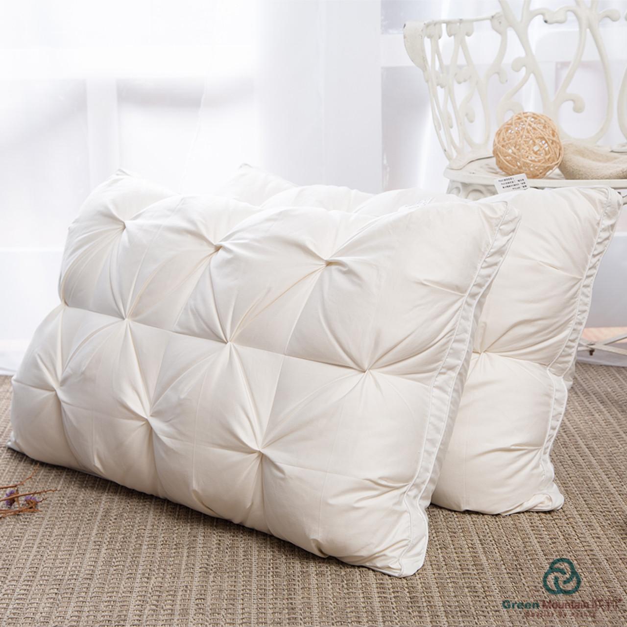羽绒枕 立体 大方格